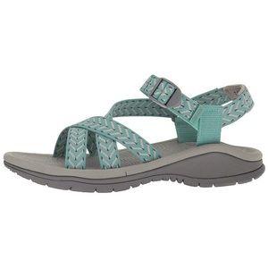 JSport by Jambu Niagara sandals velcro blue 7.5